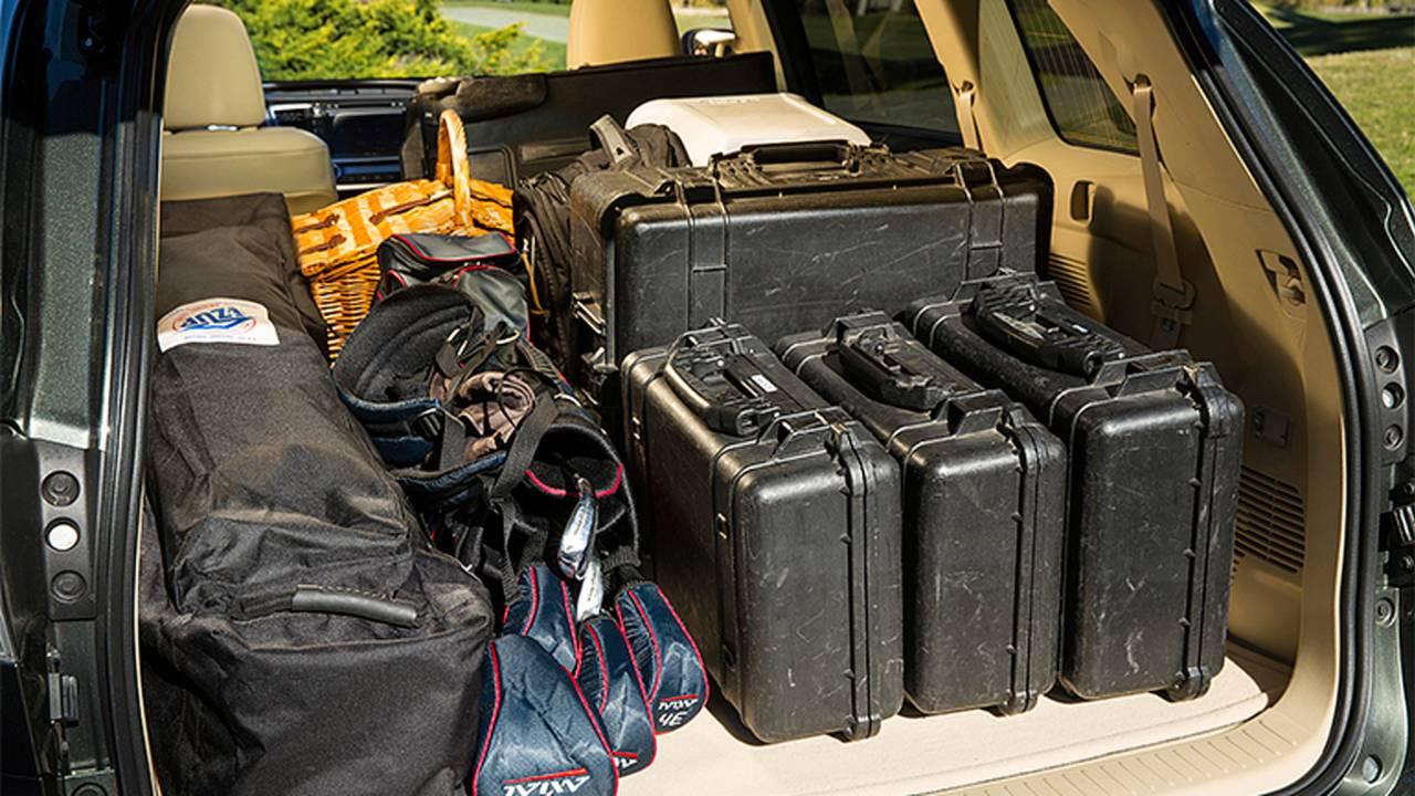2014 Toyota Highlander (cargo Space)