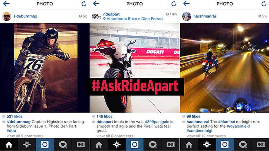 Ask RideApart: Best Motorcycle Instagram Accounts?