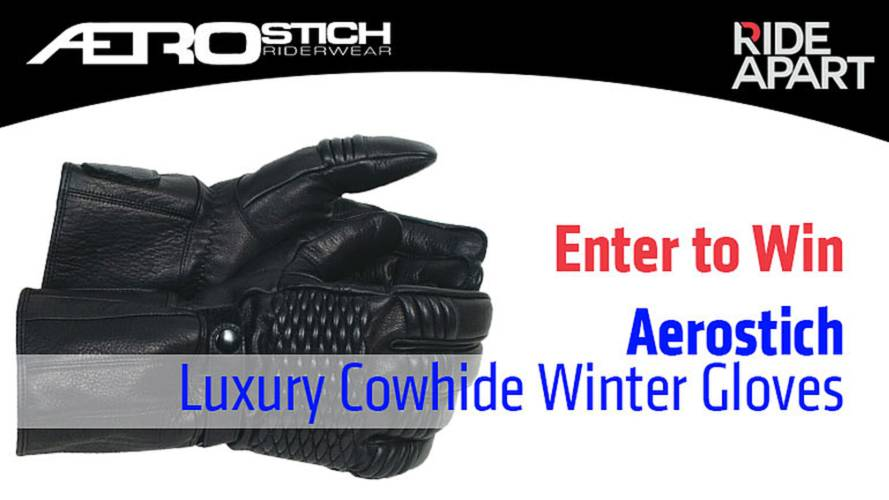 Enter To Win Aerostich Luxury Cowhide Winter Gloves