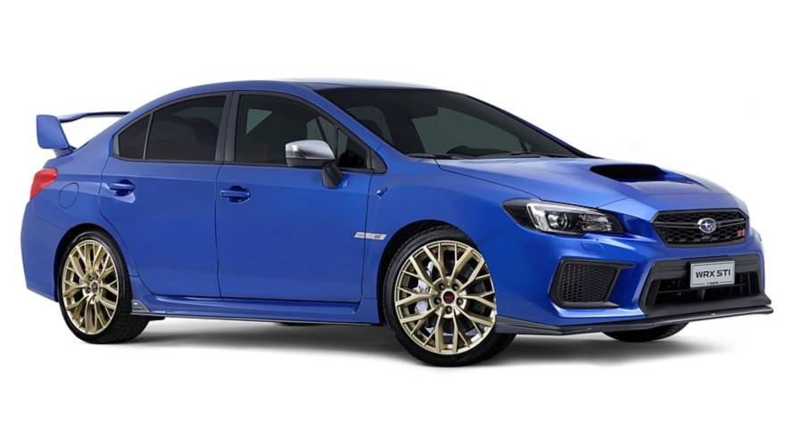 Subaru WRX STI Legendary Edition, l'addio in grande stile