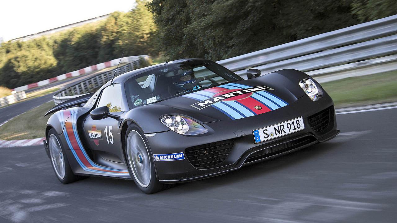 Platz 4: Porsche 918 Spyder (6:57.00)