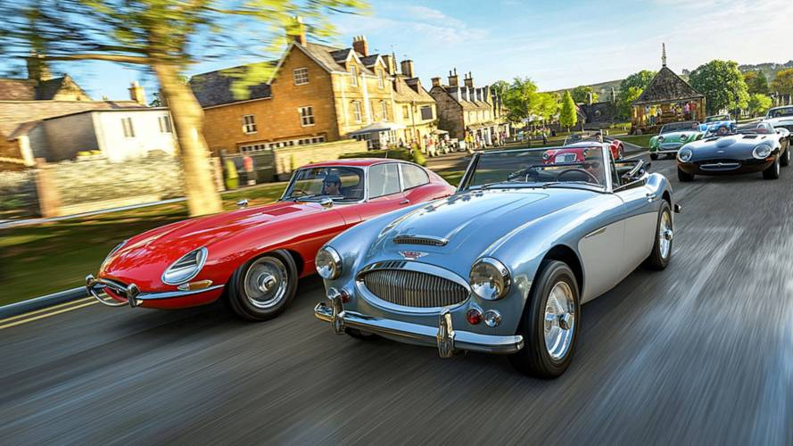 Forza Horizon 4 will be set in the UK