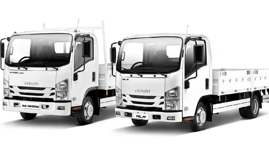 Isuzu N Serisi kamyonetler artık daha güçlü