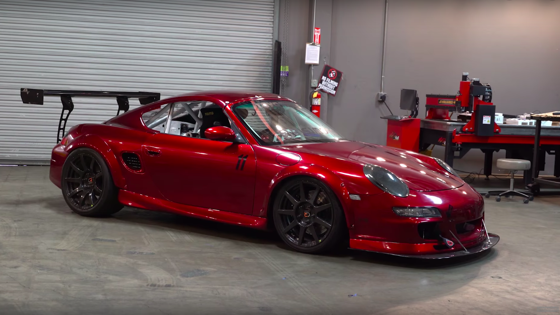 This Biturbo Porsche Boxster With Central Driver S Seat Is Bonkers
