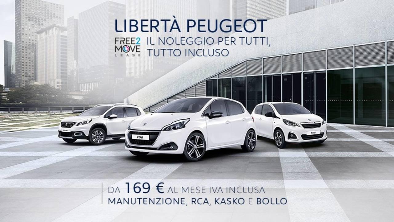 Peugeot noleggio lungo termine