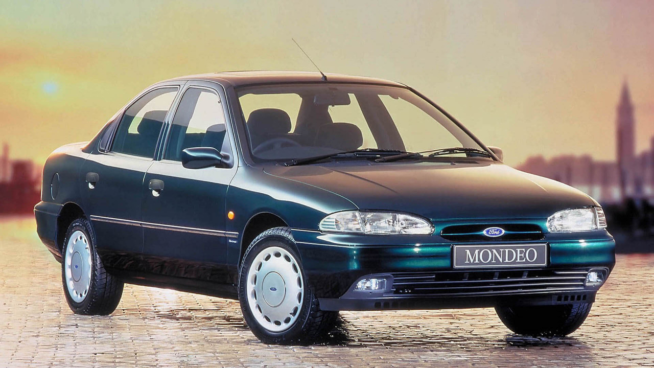 25 Jahre Ford Mondeo