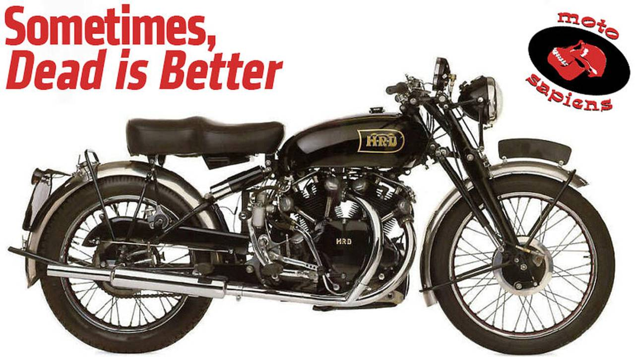 Sometimes, Dead is Better: Why Every Motorcycle Brand Does Not Need To Be Reanimated