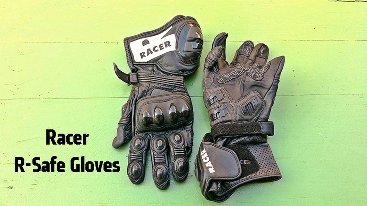 Gear: Racer R-Safe Motorcycle Gloves