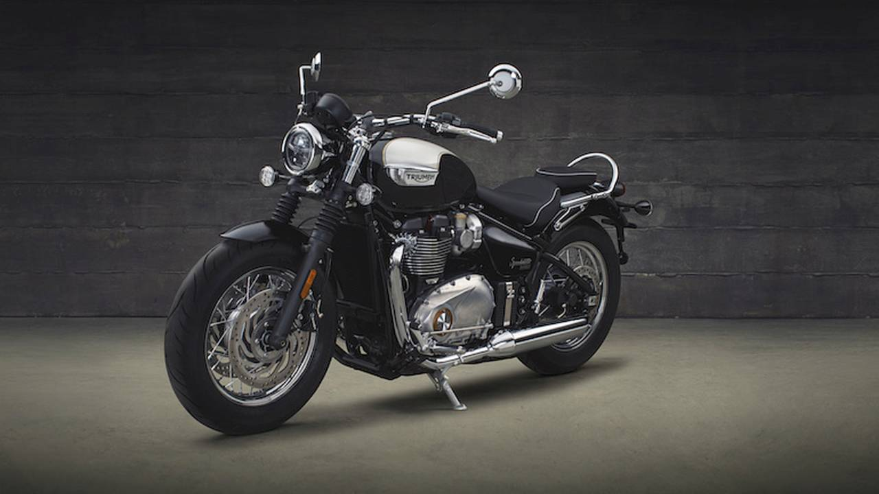 The New Triumph Speedmaster is Here and it's Gorgeous