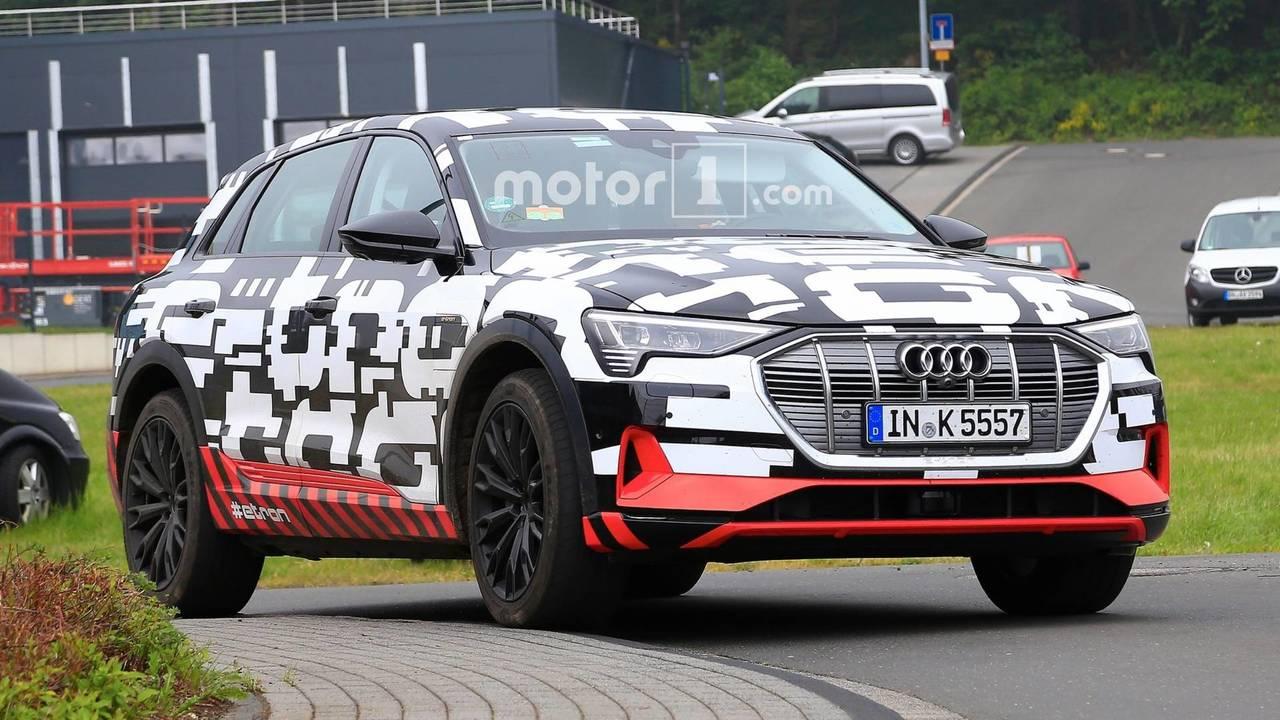 Audi E-Tron Casus Fotoğrafları (Mayıs 2018)