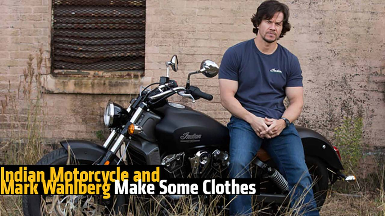 Indian Motorcycles and Mark Wahlberg Introduce a New Clothing Line
