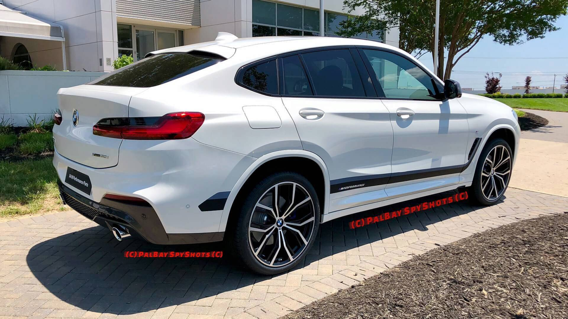 2019 Bmw X4 With M Performance Parts Basks In The Sun