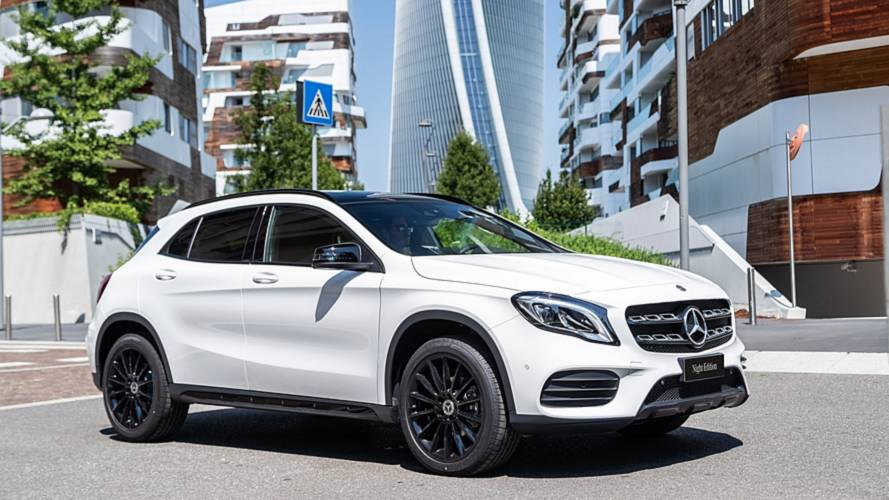 Mercedes GLA Night Edition
