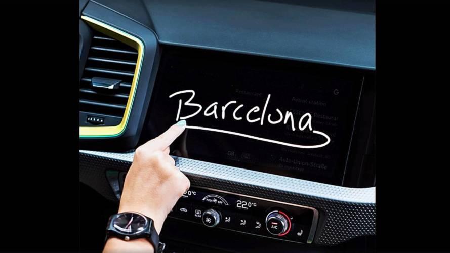 VIDÉO - L'Audi A1 révèle une partie de son habitacle
