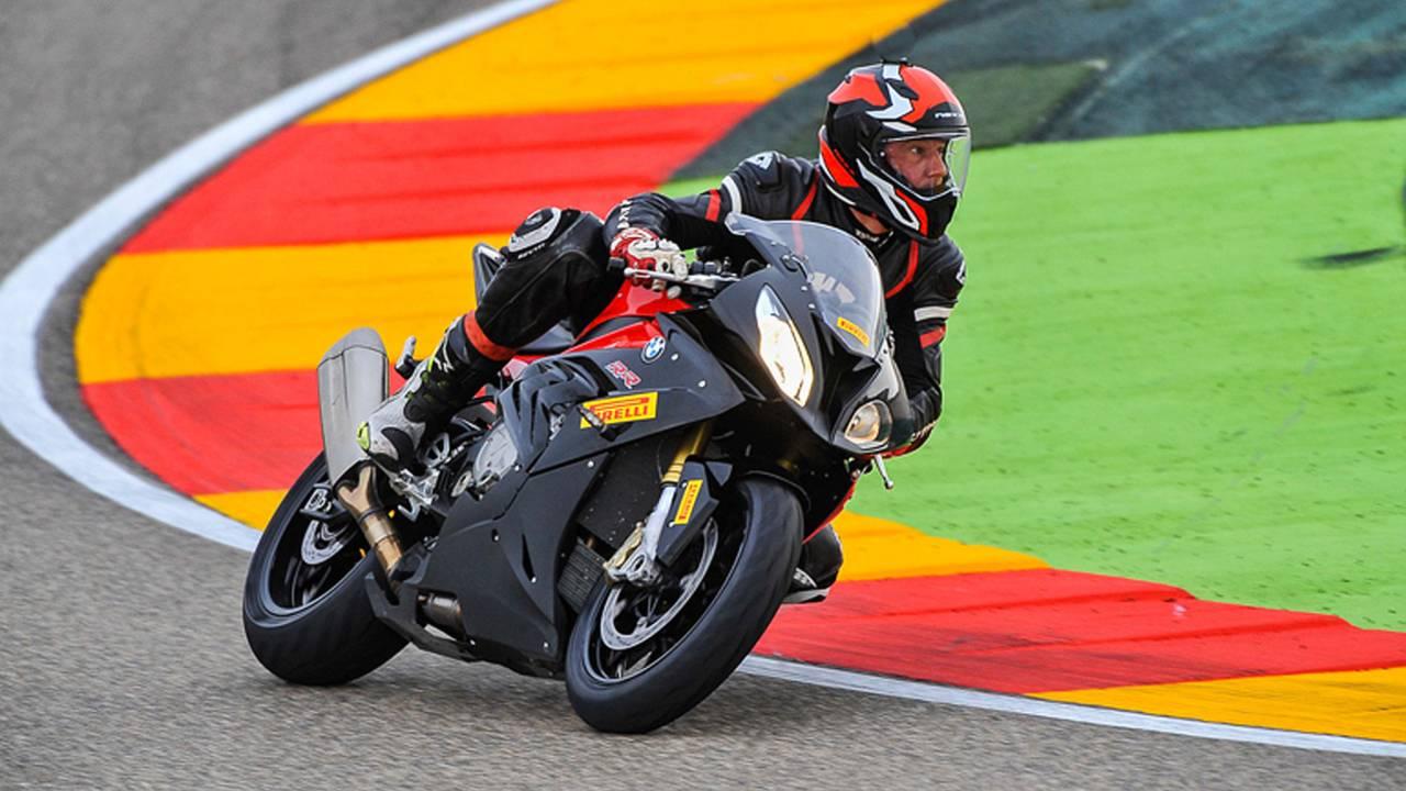 Pirelli Diablo Rosso III Sportbike Tire -  Motorland Aragon Track Tested