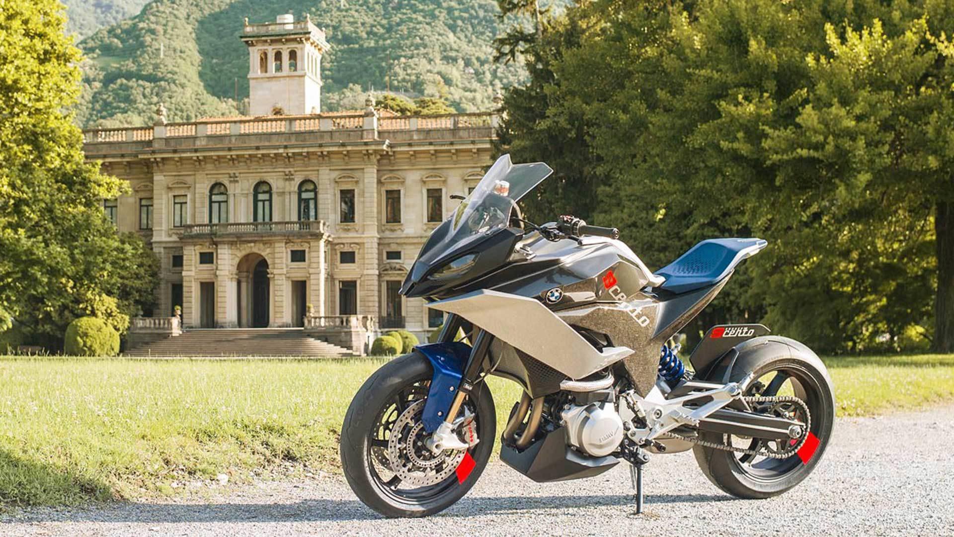 Bmw Motorrad Unveils Sexy New Concept 9cento