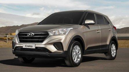 Hyundai Creta supera Jeep Renegade e Compass na 1ª quinzena de agosto
