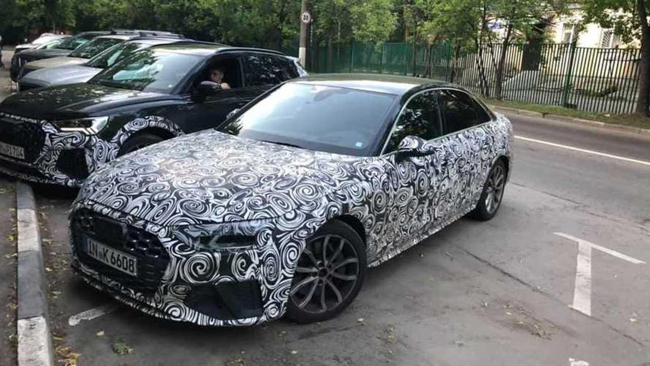 Audi Spy Photo Moscow