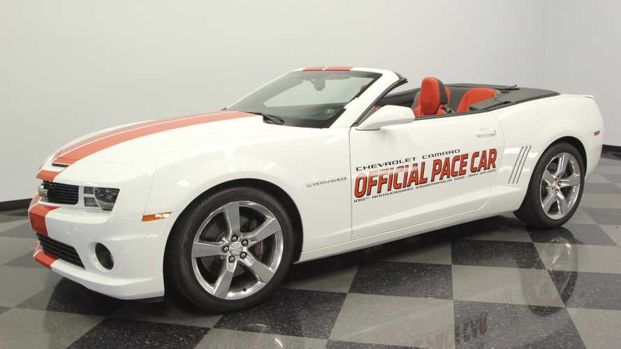 Here's A Chance To Own A Camaro Indy 500 Pace Car