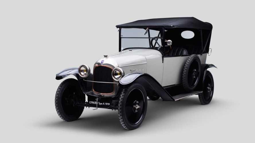 100 Jahre Citroën: Der Typ A 10 HP von 1919 stand am Beginn