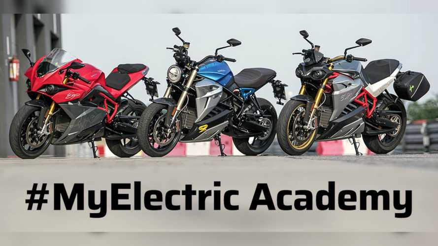 Learn Electric Motorcycle Techniques With Energica