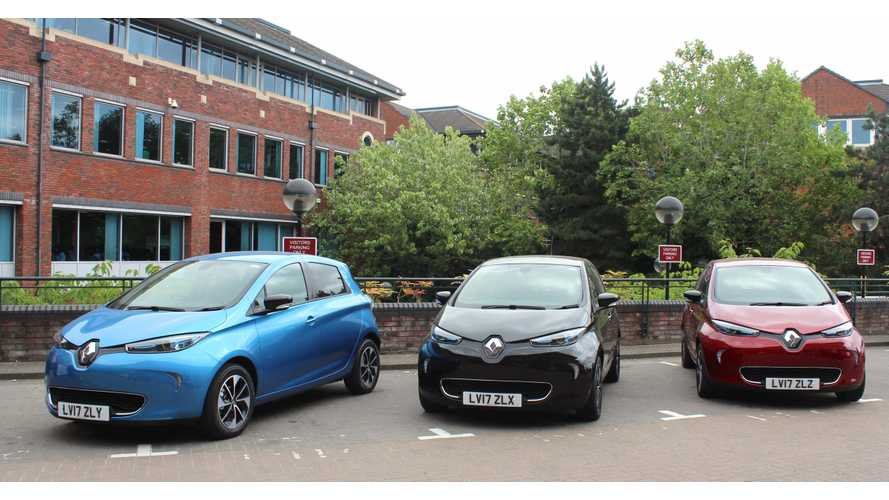 Renault Zoe is first electric pool car for Slough Borough Council, UK