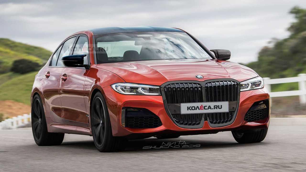 2020 BMW M3 Render