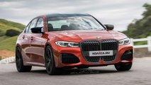 Neuer BMW M3: Rendering mit gigantischem Grill