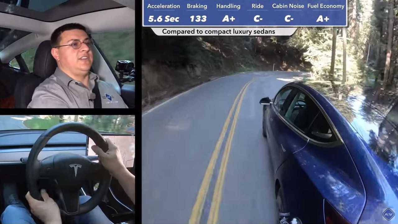 Tesla Model 3 Standard Test Drive By Alex On Autos