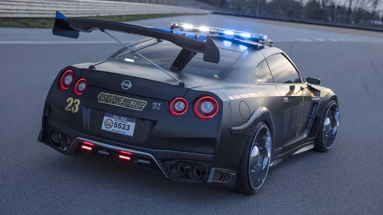 Nissan GT-R – Polícia dos Estados Unidos