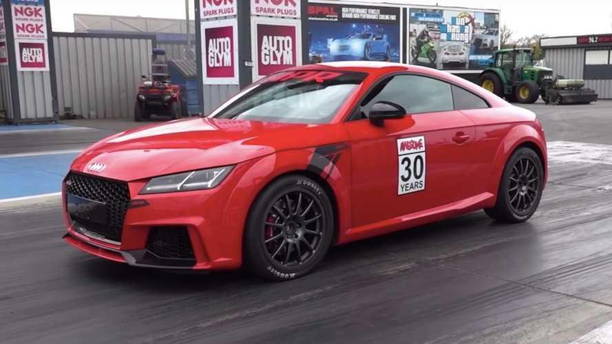 ¿Te gusta el Audi TTRS? Descubre esta preparación con 734 CV