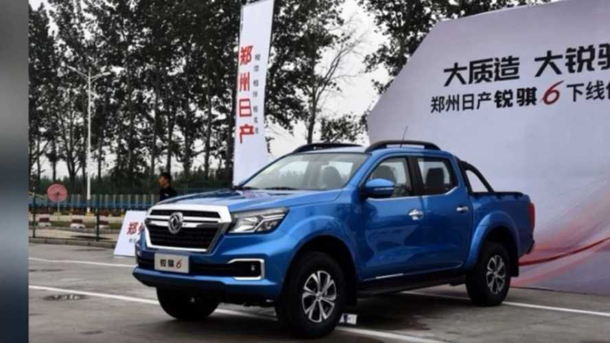 250-Mile Nissan Dongfeng Electric Pickup Truck Revealed: Video