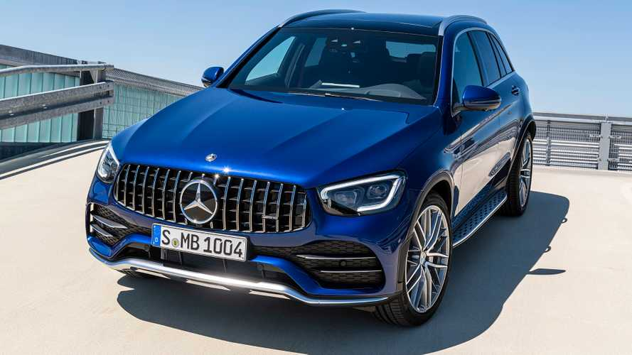 2020 Mercedes-AMG GLC 43 revealed with updated styling, 385 bhp