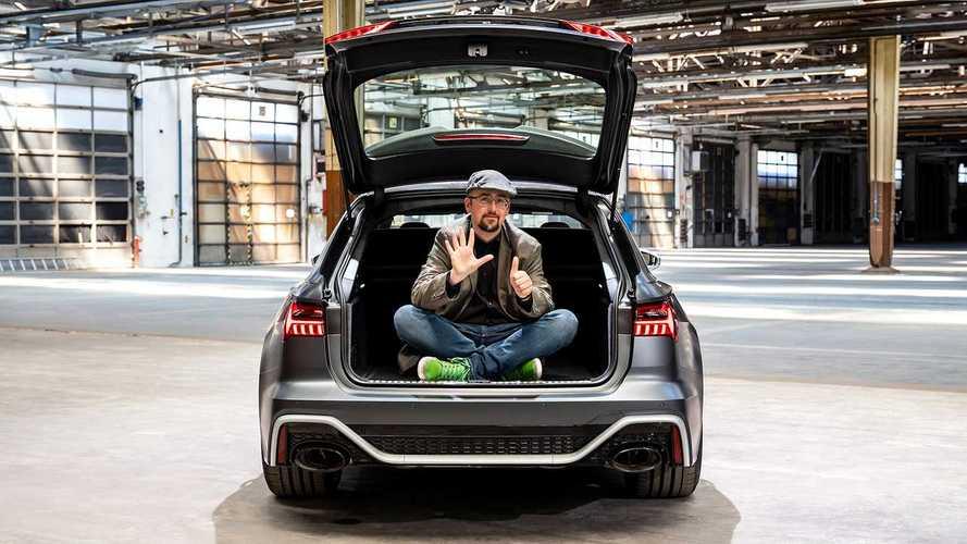 Новый 600-сильный универсал Audi свел с ума соцсети