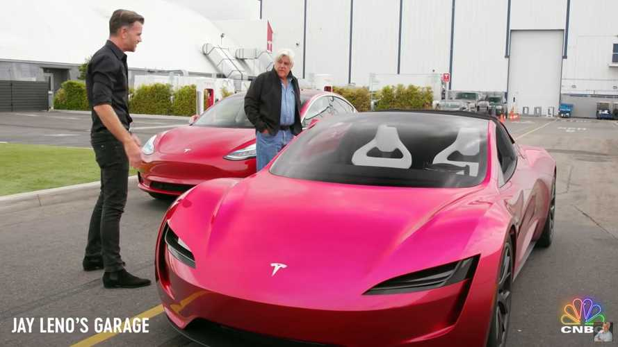 A Look Back At Jay Leno's Unwavering & Growing Support Of Tesla