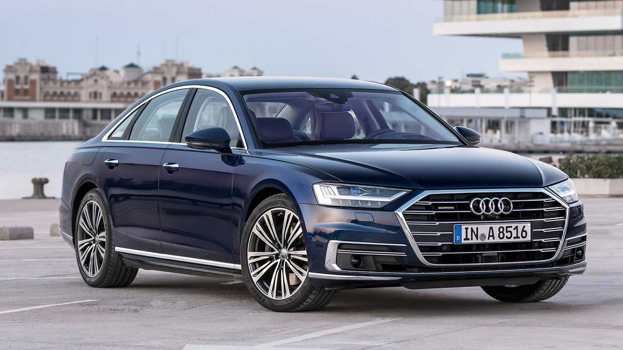 Autos mit krassem Grill 2019: Audi A8