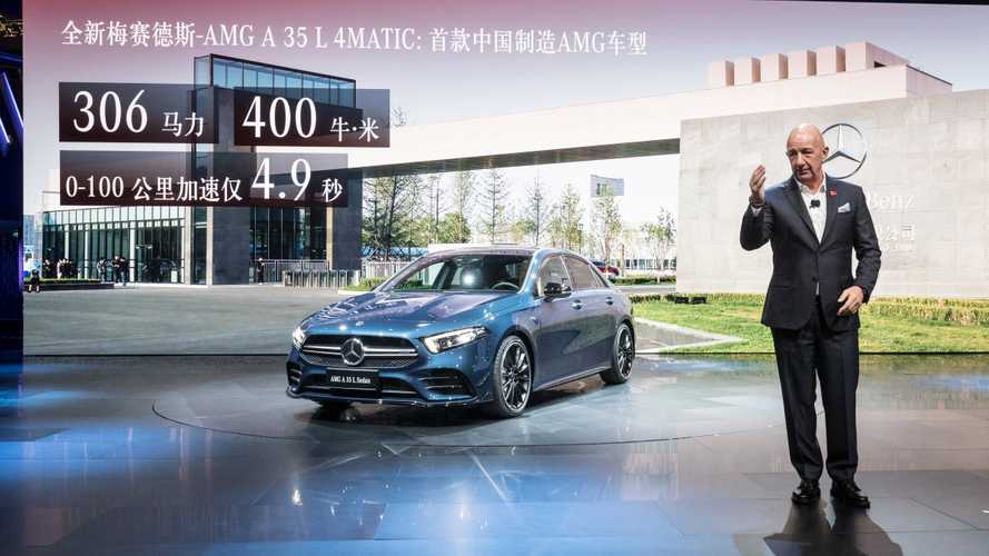 2019 Mercedes-AMG A35L