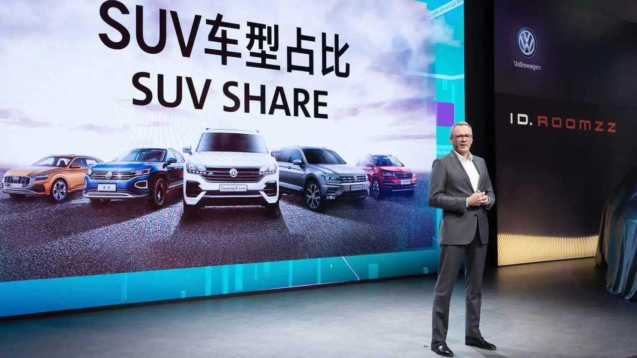 Volkswagen al Salone di Shanghai