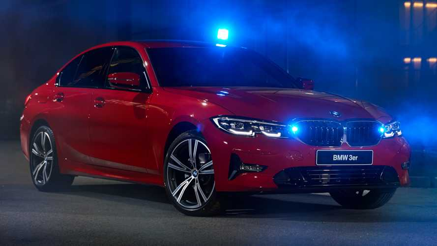 BMW 3 Series Stealth is for emergency services
