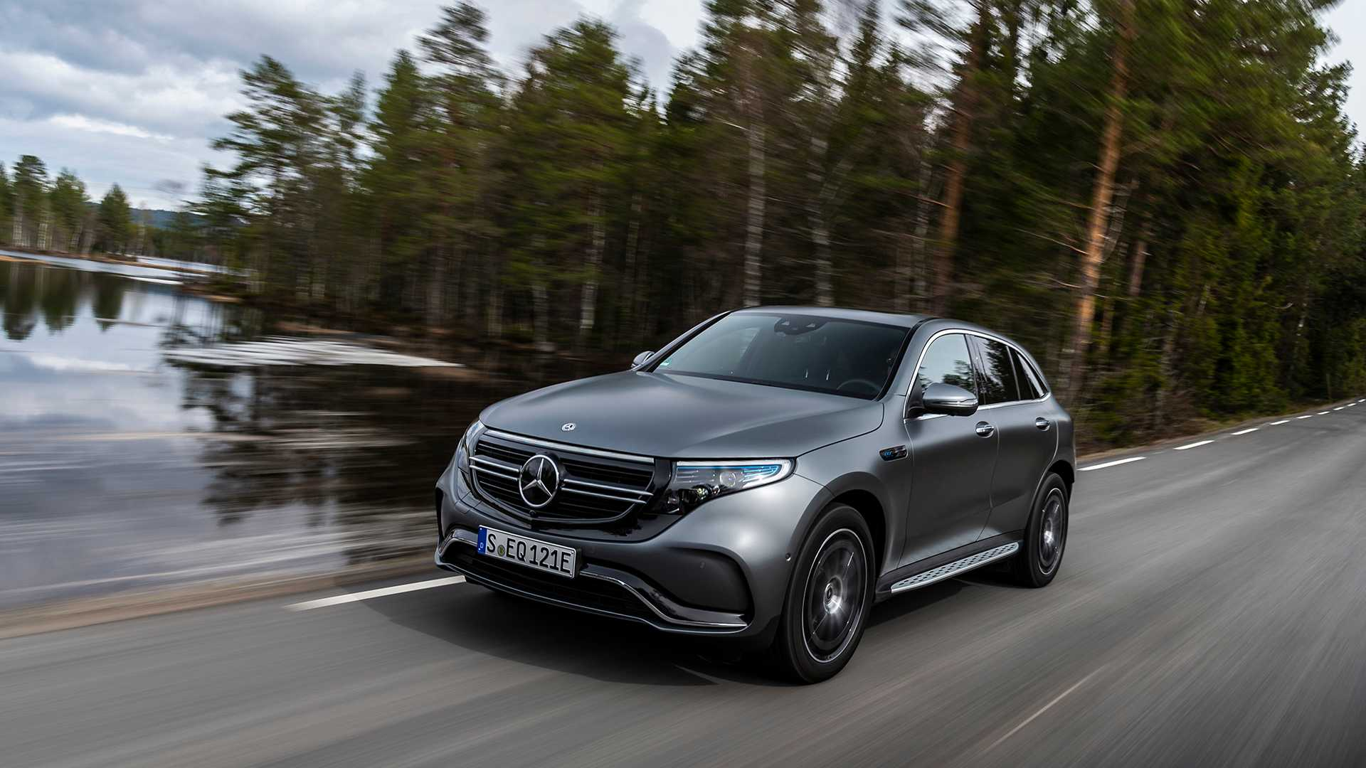 Look of THE LATEST MERCEDES BENZ EQC AVAILABLE AT 1 CR