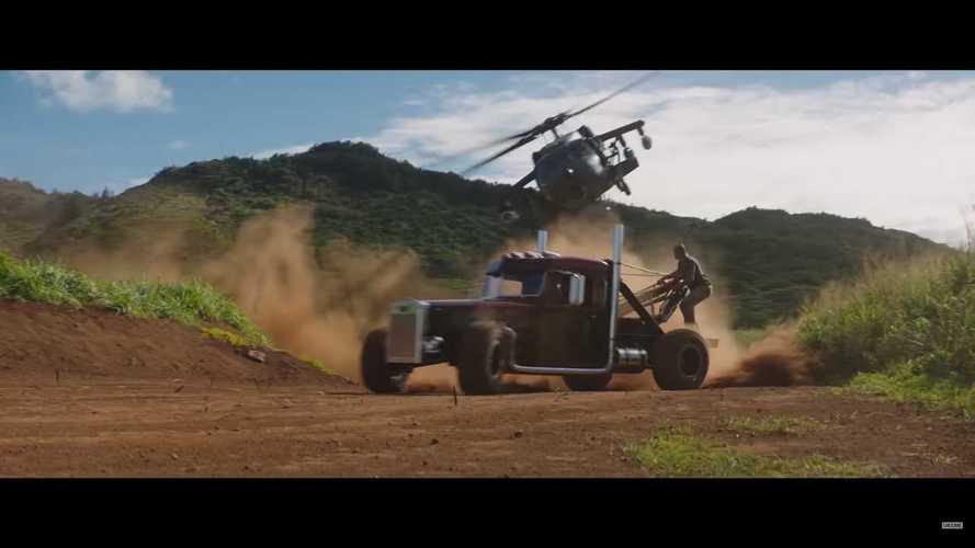 Hobbs & Shaw Movie Trailer Screenshots