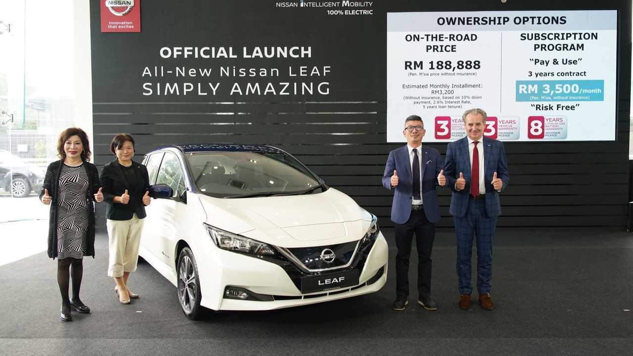 Nissan LEAF launch in Malaysia