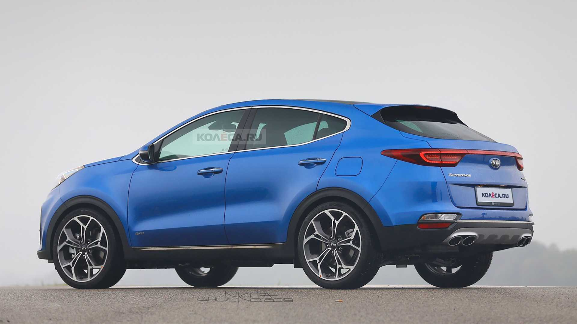 Glc Coupe Price >> 2020 Kia Sportage Gets The Crossover Coupe Treatment