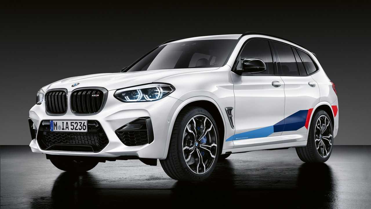 M Performance Parçalarına Sahip BMW X3 M ve X4 M