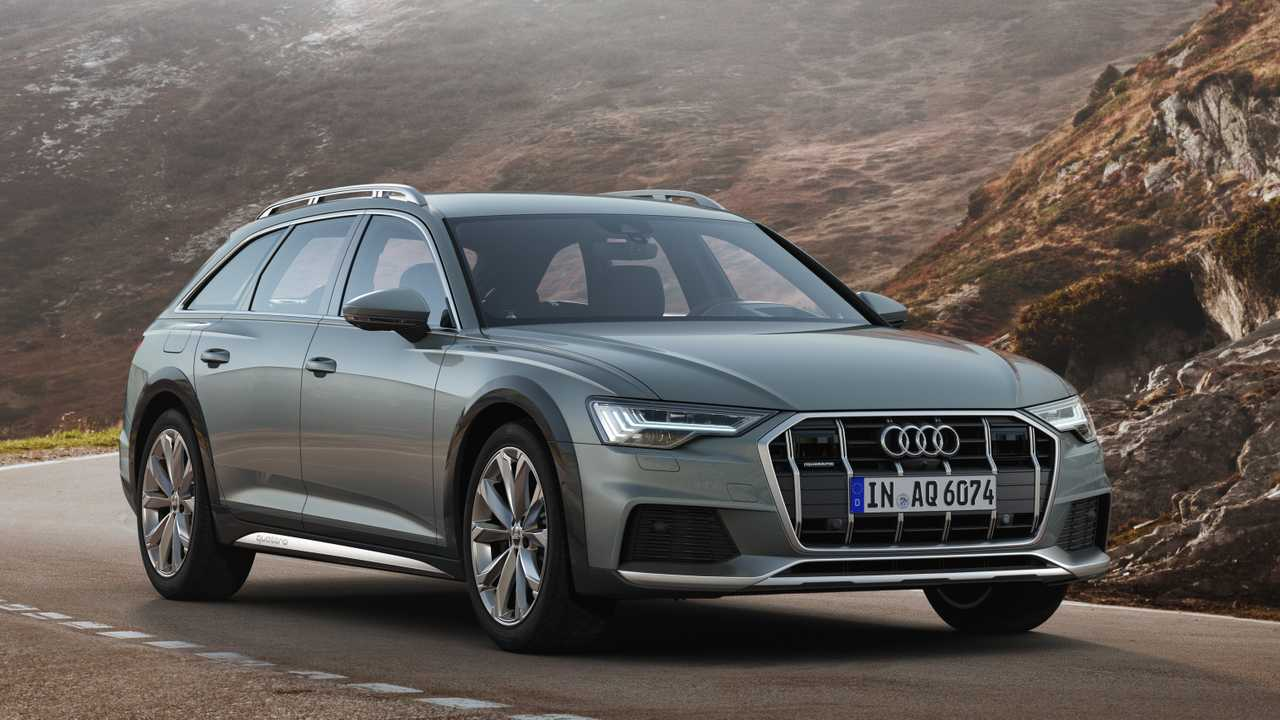 2020 audi a6 allroad debuts with more ground clearance. Black Bedroom Furniture Sets. Home Design Ideas