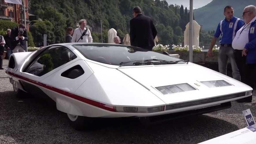 Ferrari 512 S Modulo Concept Comes Back To Life At Villa d'Este