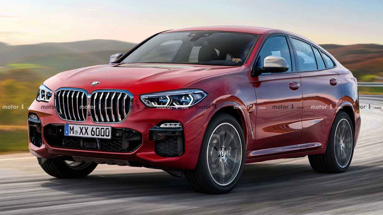 New Bmw X6 Rendering Previews The Coupe Suv S Third Generation