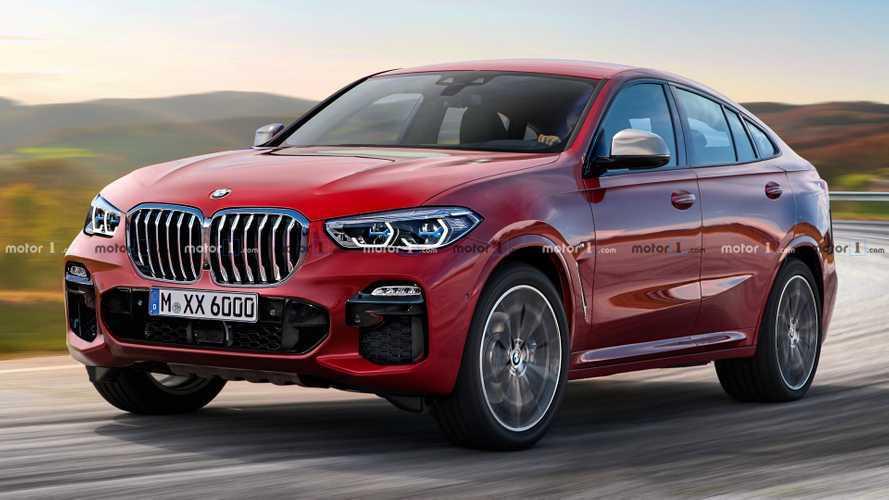 Рендеры: как может выглядеть новый BMW X6