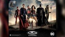 hjc justiceleague batman flash helmets
