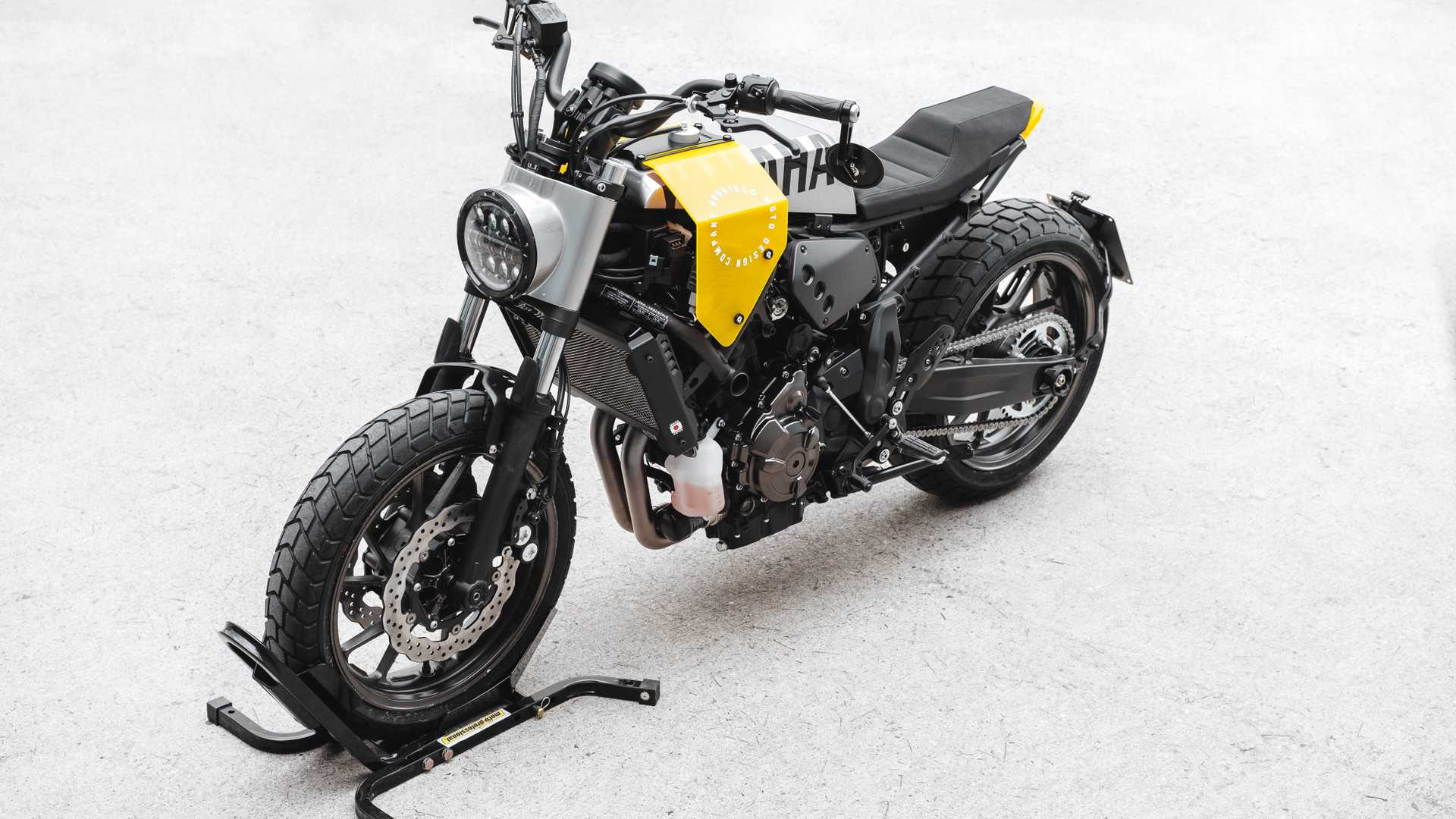 This Is XSR700 Kit Of Your Cyberpunk Dreams